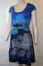 "B N W Tag Desigual collection Elegant & Stylish dress ""Liz"" Gorgeous colour ""M"""