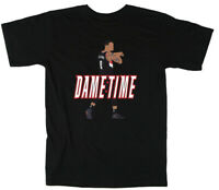 """Damian Lillard Portland Trail Blazers """"DAME TIME"""" T-Shirt"""