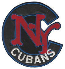 "NEW YORK CUBANS NEGRO LEAGUE BASEBALL 7"" TEAM LOGO PATCH"