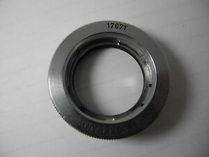 Leica 17671 Adapter for Elmar and Summicron VERY CLEAN CONDITION WORKS WELL