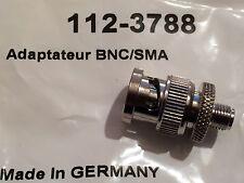 Qualité premium 50 OHMS BNC Mâle Vers Adaptateur RF SMA femelle fd6j21