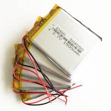 5 pcs 3.7V 1500mAh Lipo Battery 504050 power for MP3 cell phone Camera GPS DVD