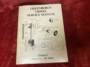 Postwar Lionel Greenberg Service Repair Manual Volume 2 FANTASTIC OVER 350 Pages