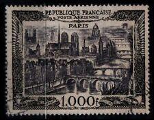 Déstockage : P. Aérienne 29 : PONTS de PARIS, Oblitéré = Cote 30 €.Timbre France