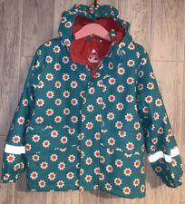 Girls Age 4-5 Years - Frugi Coat - Splish, Splash, Splosh