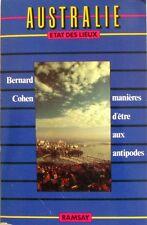 Australie - Etats des Lieux - Bernard Cohen - Manière d'être aux Antipodes 1985