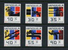 Venezuela 1976 #1156-61  Oil industry minerals   6v. MNH  M413
