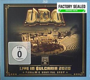 U.D.O. – Live In Bulgaria 2020 (Pandemic Survival Show) 2 X CD & Blu-Ray Set NEW