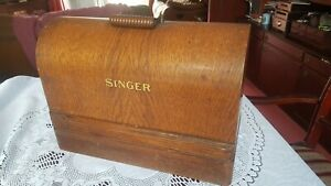 Early Antique Singer 99K Sewing Machine Bentwood Case / Base & Lid.