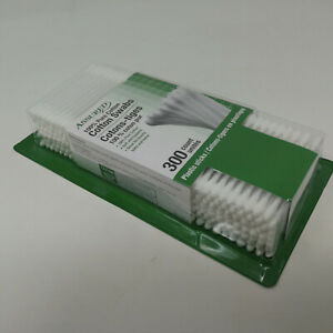 300 count Q TIPS 100% cotton swabs soft hygienic value pack USA FREE SHIPPING