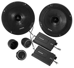 "KICKER 46CSS654 6.5"" 6 1/2"" 600 Watt 4-Ohm Car Audio Component Speakers CSS65"