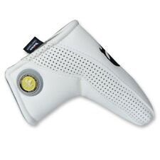 New Skull White Blade Putter Cover Headcover Magnetic Closure For Odyssey Ping