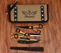 "Professional Hair Cutting Japanese Scissors Barber Stylist Salon Shears 6.5"" PRO"