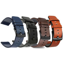 Genuine Leather Watch Band Quick Release Wrist Strap Armband 18mm 20mm 22mm 24mm