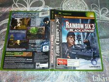 TOM CLANCY'S RAINBOW SIX 3 BLACK ARROW (MICROSOFT XBOX GAME, MA15+) (138194 A)