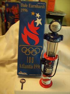 1996 DALE EARNHARDT ATLANTA OLYMPICS 1/16 GAS PUMP ACTION