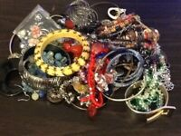 LOT 15....VINTAGE ESTATE MIXED COLLECTION OF JEWELRY OVER 2lbs