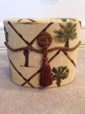 Box Decorative Storage Box Jewelry Container w/Lid  Beige Tommy Bahama Style