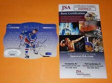 JSA COA GT1 WAYNE GRETZKY HAND SIGNED TRIBUTE CARD 1996-97 SPX HOCKEY AUTO