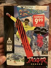 Atari Jaguar - Val D'Isere Skiing and Snowboarding - Brand New Factory Sealed