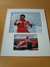 Felipe Massa Genuine Autograph - UACC / AFTAL.