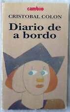 DIARIO DE A BORDO - CRISTOBAL COLÓN - ED. LUIS ARRANZ 1991 - VER DESCRIPCIÓN