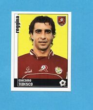 PANINI CALCIATORI 2006-2007- Figurina n.323- TEDESCO - REGGINA -NEW
