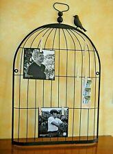 GRAND PELE MELE  58cm Multi photo Porte Bijoux oiseau métal  Déco tendance