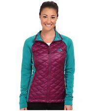 NEW The North Face Momentum ThermoBall Hybrid Women's Jacket Size S Purple $180