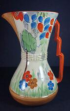 """Espléndido británico roskyl Cerámica Art Deco Jarra de limonada 8.5"""""""