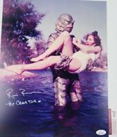 Ricou Browning signed THE CREATURE 11X14 photo JSA COA 139