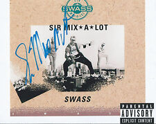 Sir Mix a Lot auto 8x10  Music Rap Hip Hop Baby Got Back Rare PROOF COA LOOK!