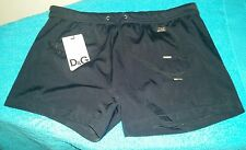 DOLCE & GABBANA MEN'S Black SWIM Briefs Shorts Black Size Small