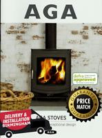 AGA Stoves DEFRA Log / Wood Burning / Multifuel Stove Fireplace Catalogue
