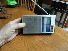 Vintage Sony ICF-300 W 2 band receiver AM FM Tested Works Great Fast Ship