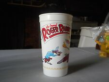 1988 Who Framed Roger Rabbit Plastic Cup
