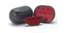 3 PCS Watermelon Set (Wood) 1:18 to 1:24 Scale  Diorama  New no box!