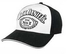 Jack Daniels Men's Baseball Cap Black & White Hat JD77-93