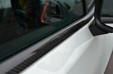 Carbon Fibre Side Door Window Sill Trim Set Covers To Fit Jeep Renegade (2015+)