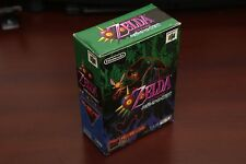 Nintendo 64 The Legend of Zelda Majora's Mask + Memory pack boxed JP N64 game US