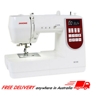 Janome DM7200 Computerised Sewing Machine, Patchwork, Dressmaking, Quilting