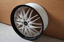 1 Satz Barracuda Voltec T6 Felgen in 8x20 Racing-White /Carbon LK 5x112 ET40 NEU