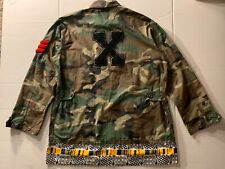 Cross Colours Mens Sz L Camoflauge Malcom X Vintage Jacket
