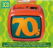 Various ‎– Massive Hits - Seventies : 3 x CD 2014 NEW SEALED DIGIPAK