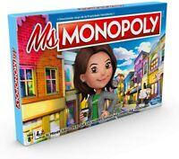 Hasbro E8424 Ms. Monopoly Board Game