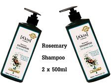 2 x 500ml ALCHEMY Rosemary Shampoo