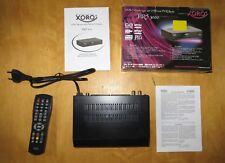 XORO HRS 3000 DVB-S Satelliten Receiver satellite receiver USB MPEG PVR Ready