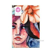 Jane Davenport Art Journal Printed Girl 9 by 6 376866