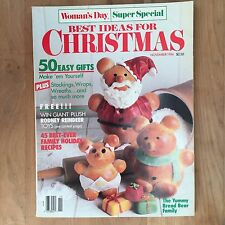 Woman's Day Super Special Magazine 1986 BEST IDEAS FOR CHRISTMAS 50 Gifts Wreath