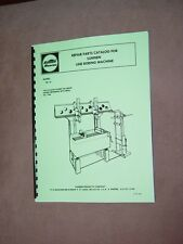 Sunnen TA-14 Line Bore Parts Manual Tobin Arp